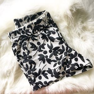 "J. Crew 3"" Floral Jacquard Boardwalk Shorts"
